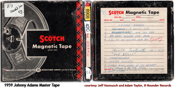 1959 Tape Box